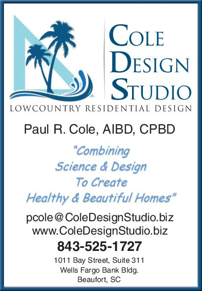 Cole Design Studio Lowcountry Phone Directory
